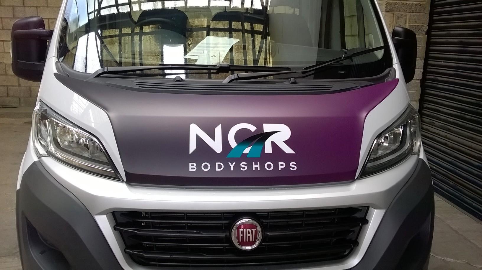 Vehicle Signage for NCR Bodyshops
