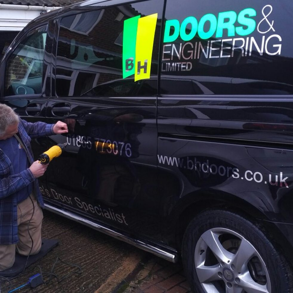 Van graphics featured this month