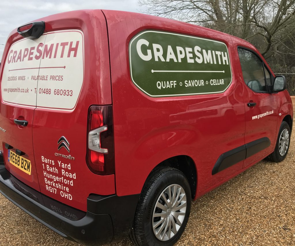 GrapeSmith Van Graphic
