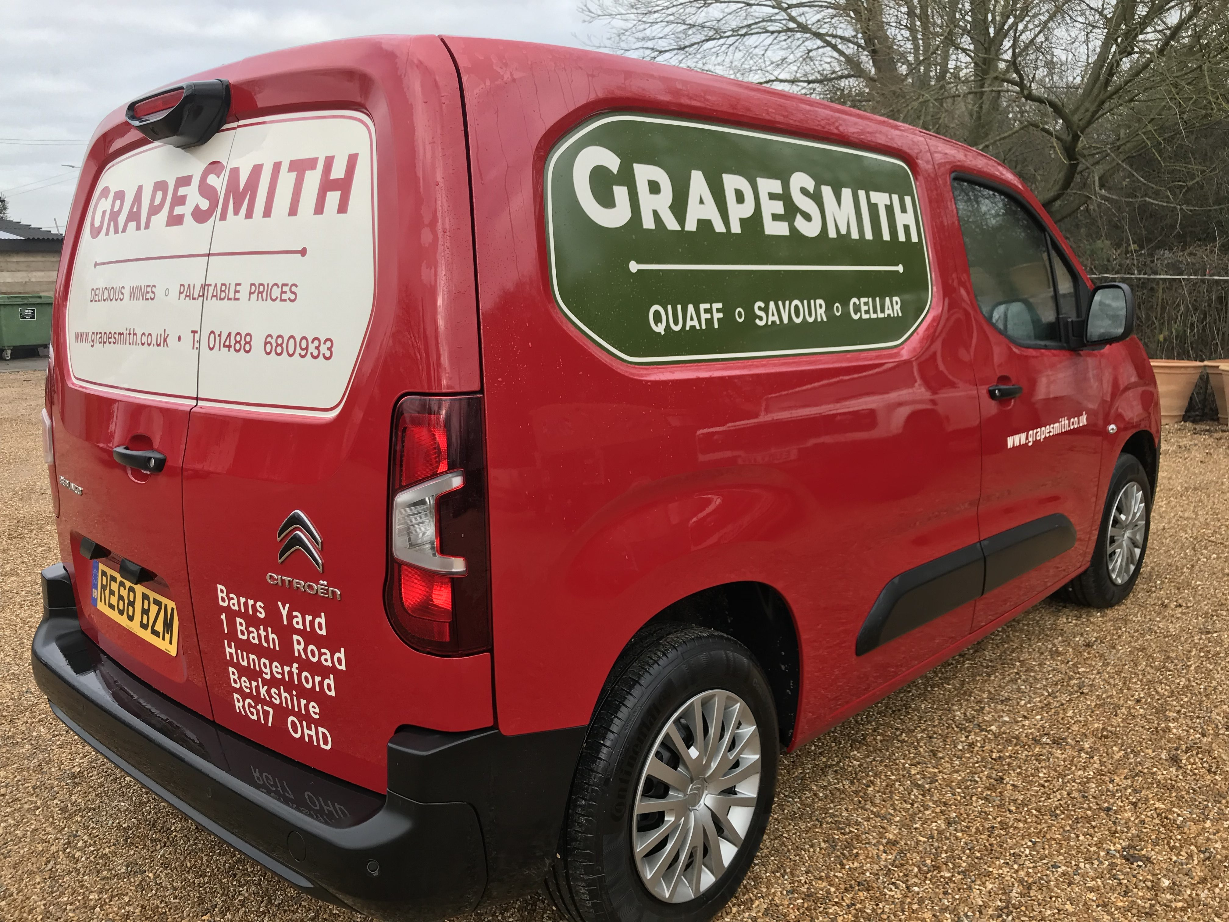GrapeSmith Van Graphic