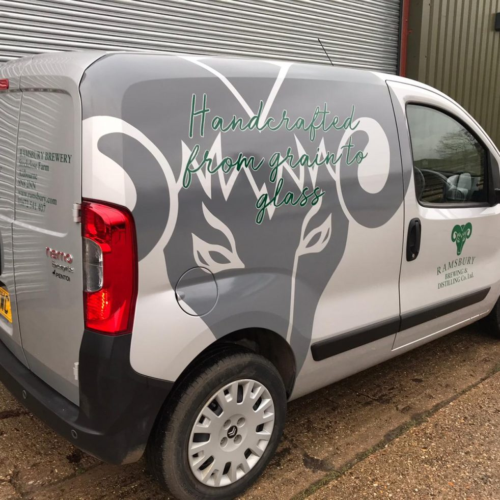 Ramsbury Brewery's New livery